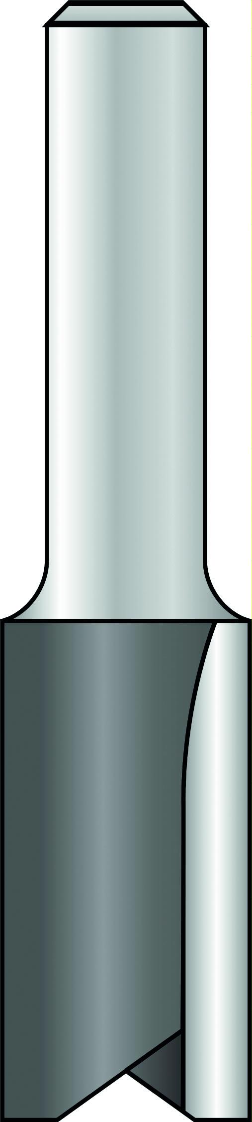 Proline groeffrezen met 2 snijkanten