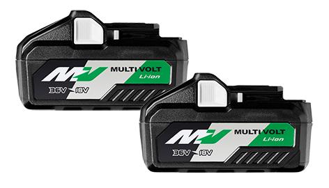 Twin Packs 18V - 36V MULTI-VOLT