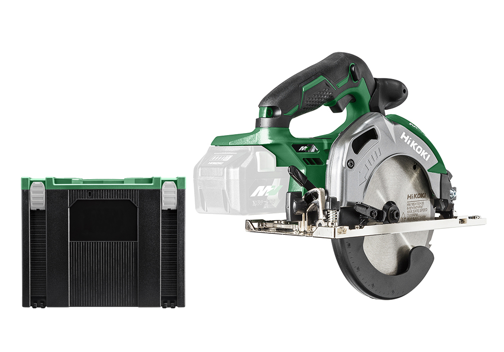 Scie circulaire sans fil - 36 V / 66 mm - Exclusif chargeur et accus - Coffret HSV IV