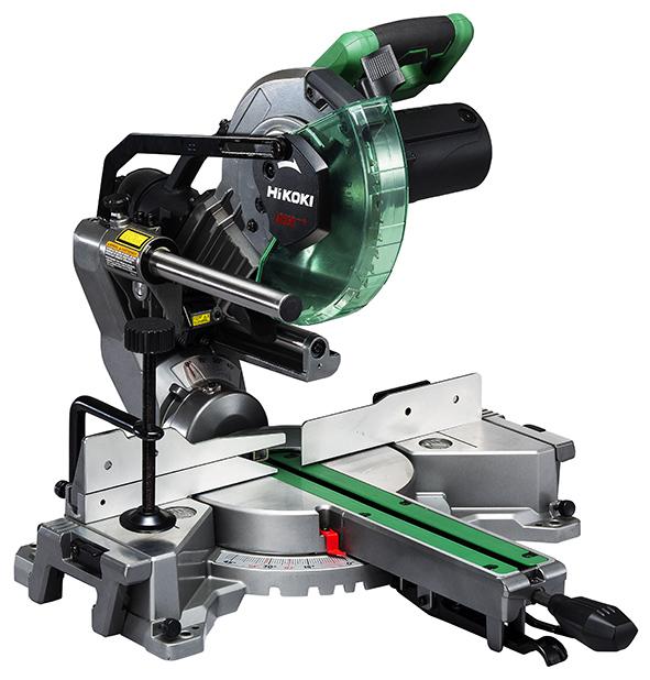 Afkortzaagmachine met laser - 1.100 W - 216 mm